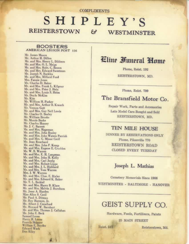 Page 10 of January 1948 Newsletter