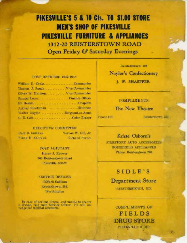 Page 13 of January 1948 Newsletter